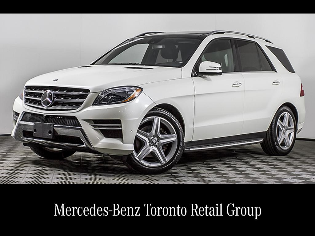 Certified Pre Owned 2015 Mercedes Benz ML CLASS ML350
