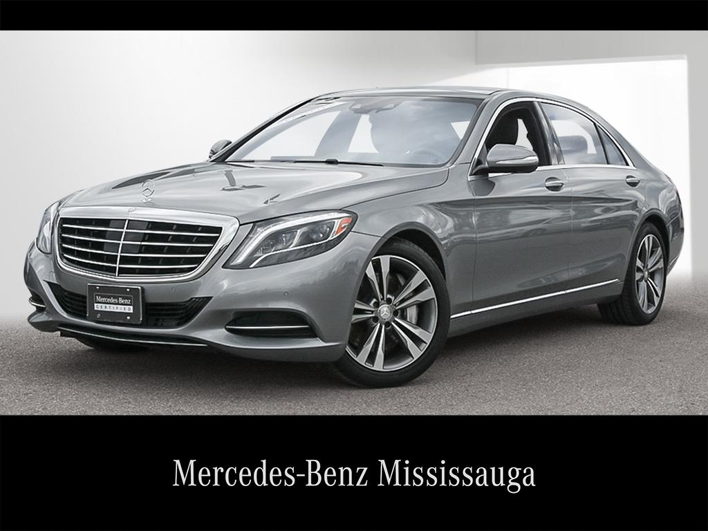 Certified Pre Owned 2014 Mercedes Benz S CLASS S550